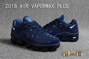 air vapormax plus baskets basses mode blue